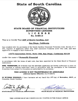 South Carolina License